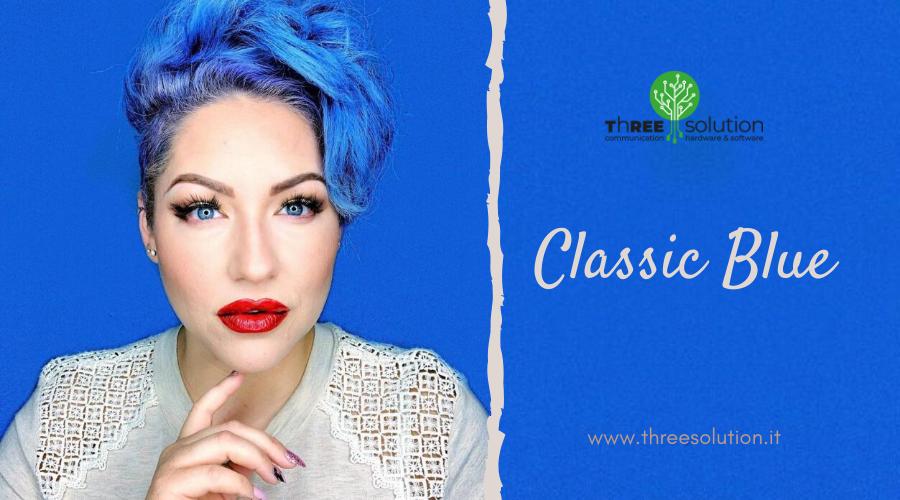 Parola d'ordine 2020: Classic Blue!