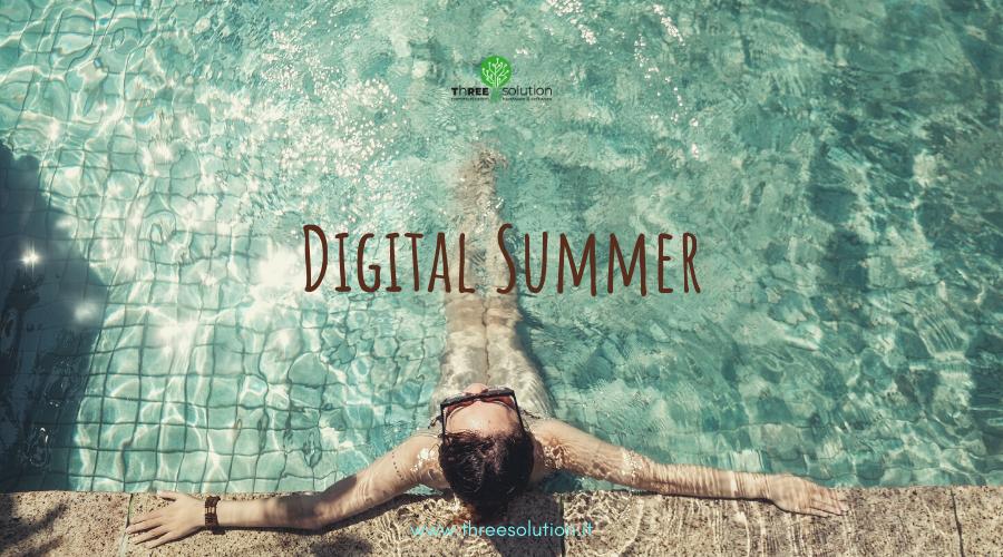 Un'estate digital senza rinunciare al relax!